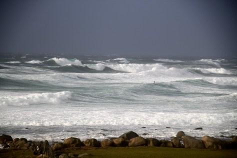 orkan na morzu północnym