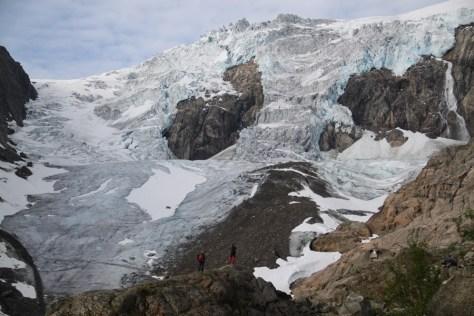w drodze na lodowiec