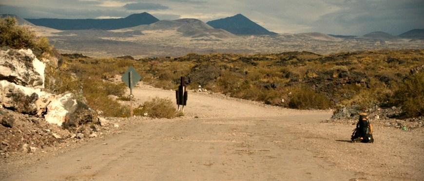 do celu jechałem po bandzie czasem, myślę że przegiąłem lub że powinienem bardziej – stopem pod patagoński wiatr