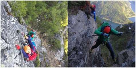 via ferrata w Loen