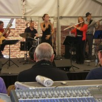 Jazz Notes at the Eltham Jazz, Food & Wine Festival
