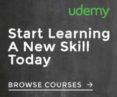 udemy learn a new skill