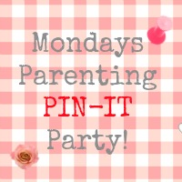 Mondays Parenting Pin It Party
