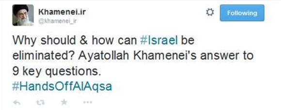 Supreme Leader Khamenei's Twitter account