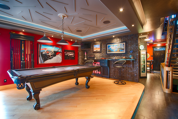 Photos of Linda and Steve's home for Domus Magazine
