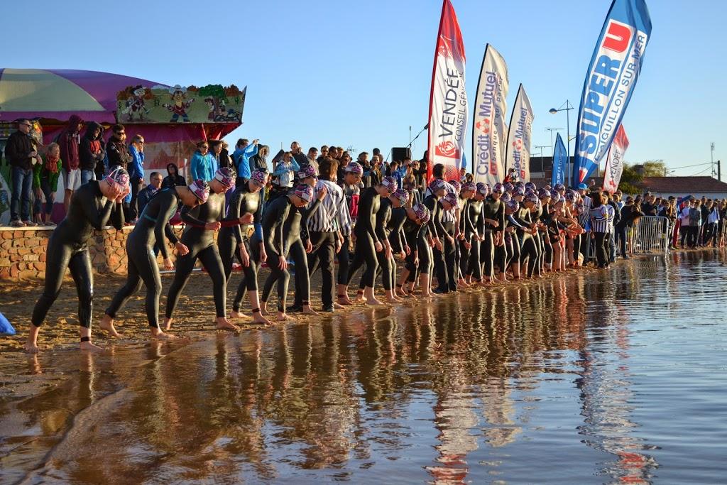triathlon a l'aiguillon sur mer