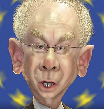 De 'EU diktator' Van Rompuy is geridderd in de hoogste Orde van Oranje-Nassau
