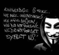 Anonymous gaat de wereld wakker schudden
