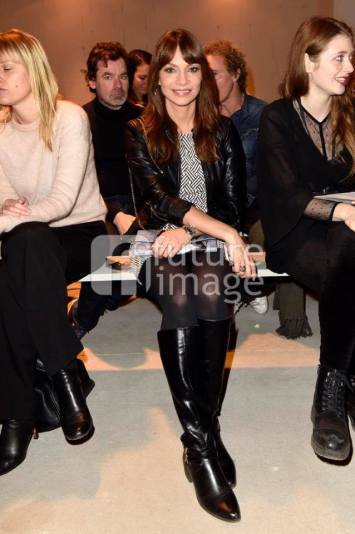Front Row at Fashionweek Berlin