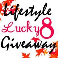 Blog Giveaway: Lucky 8 Lifestyle Giveaway