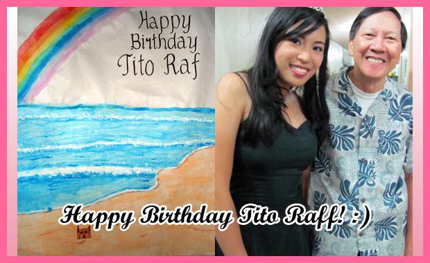 Happy Birthday Tito Raff!