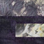 "Blooming (Purple)  51"" h  x  23"" w.  [detail]"