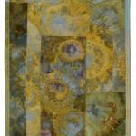 "Blooming (Yellow)   37"" h  x  29""  SOLD"