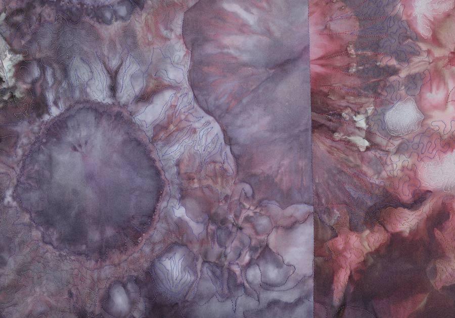"""Marklin Nebula  34"""" h x 35"""" w.  [detail]"""