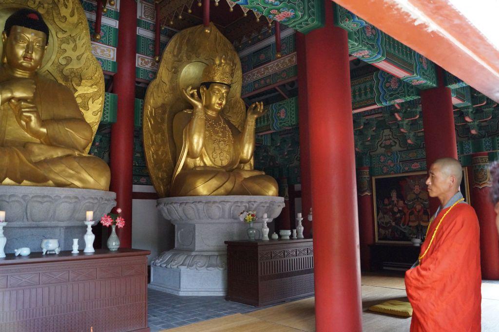 Ryongtongsa - jeden z mnichów