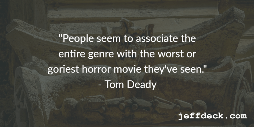 horror author Tom Deady
