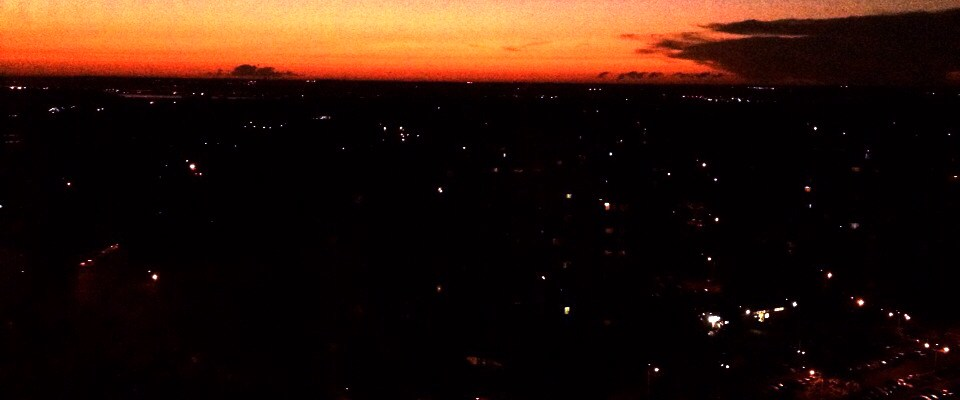 Sunrise over D.C.