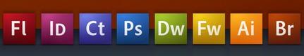 Adobe CS3 Icons in the Dock