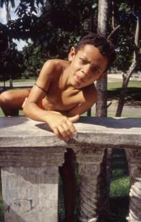 Feral Boy in Park, Belem