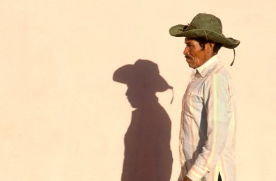 Nicaraguan Man in Country Town