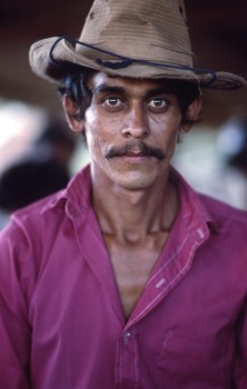 Juan Jose, Cowboy at Saints Day Festival in Catarina