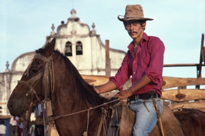 Juan Jose, Cowboy on Horse in Catarina