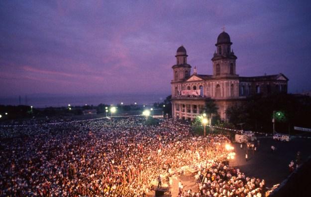 Twilight Sandinista Rally, Managua