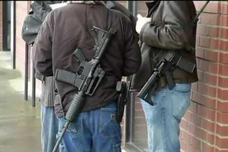 Armed Portland Gun Activists