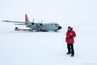 Arrival at the WAIS Divide Field Camp, Antarctica.