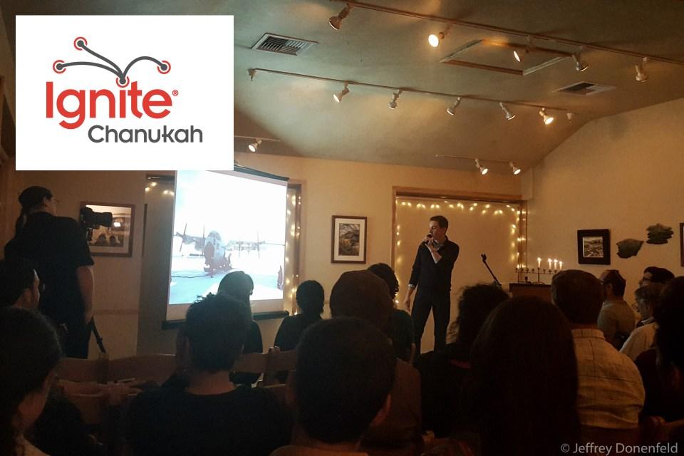 """Speaking at Ignite Chanukah 2016 – """"The Frozen Chosen: Jews in Antarctica"""""""