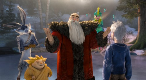 Rise of the Guardians - Easter Bunny, Mr. Sandman, Santa Claus, Tooth Fairy and Jack Frost