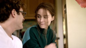 Courtesy Warner Bros. Pictures Joaquin Phoenix as Theodore and Rooney Mara as Catherine.