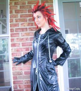 Cosplay - Kittumgirl Cosplay - as Axel from Kingdom Hearts2