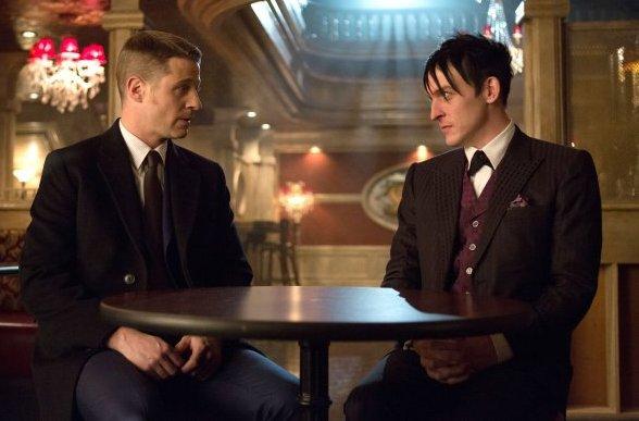 Gotham - Welcome Back Jim Gordon - Gordon and Penguin