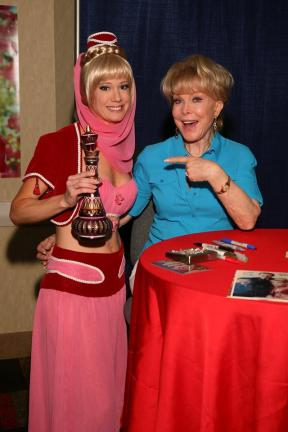 KathyKay Dee cosplay - I Dream of Jeanie with Barbara Eden