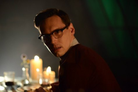 """GOTHAM: Nygma (Cory Michael Smith) in the """"Rise of the Villains: Strike Force"""" episode of GOTHAM airing Monday, Oct. 12 (8:00-9:00 PM ET/PT) on FOX. ©2015 Fox Broadcasting Co. Cr: FOX."""
