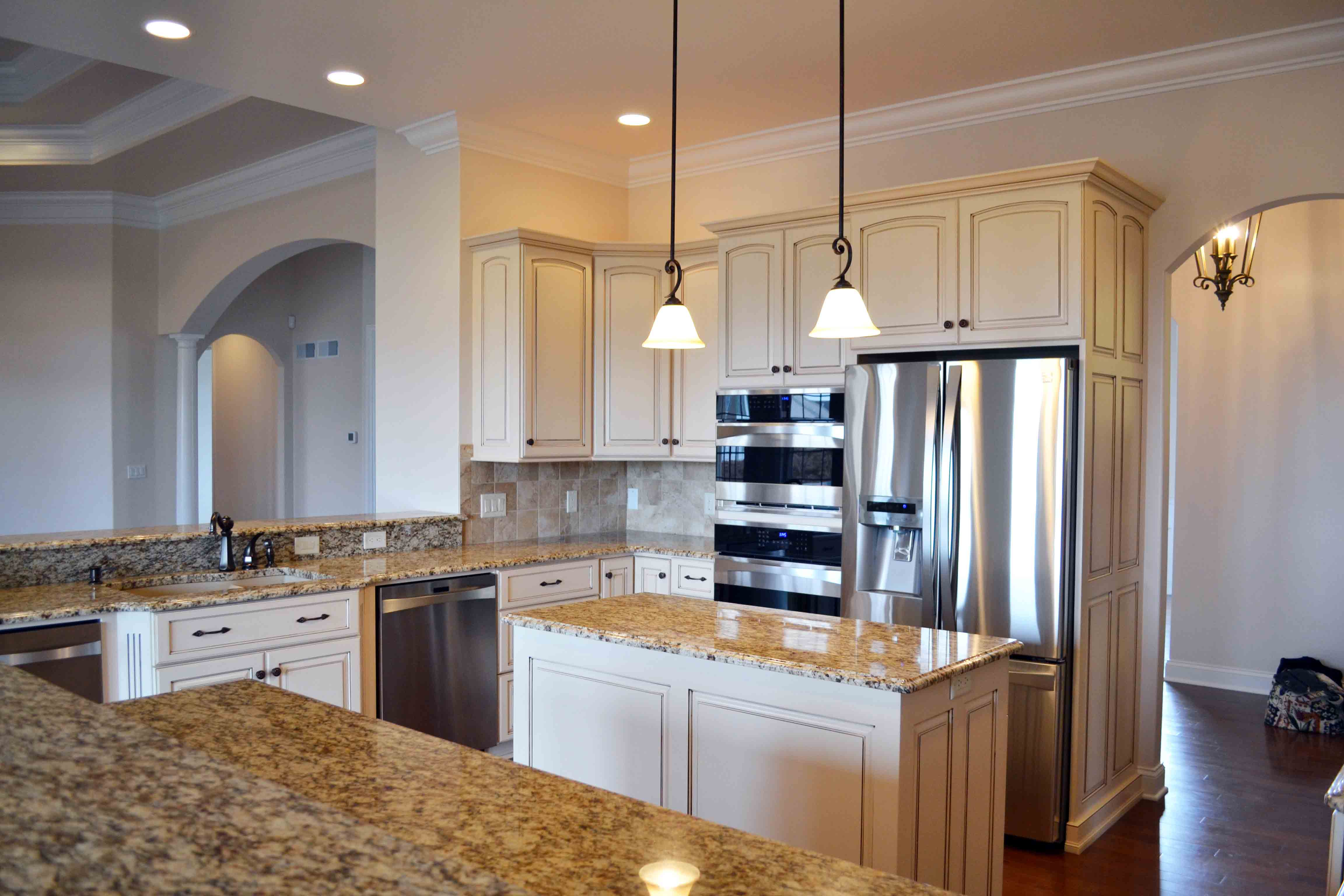 custom home 2 kitchen remodeling york pa Kitchen in Custom Home built By Jeffrey L Henry Inc
