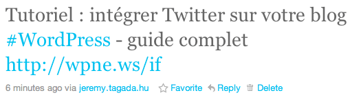 Branding twitter application
