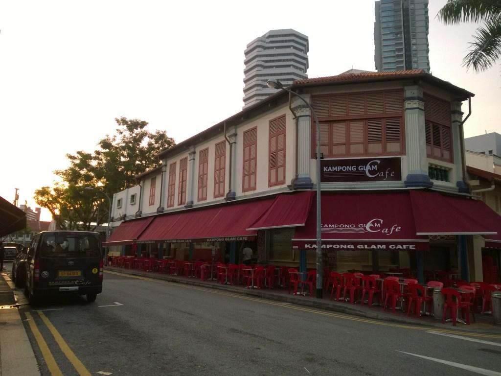 Kawasan dominan oleh Kafe-kafe dengan kuliner khas Melayu dan Timur Tengah