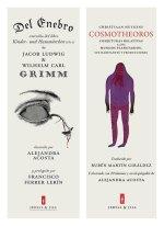 Del enebro y Cosmotheoros ilustrados por Alejandra Acosta