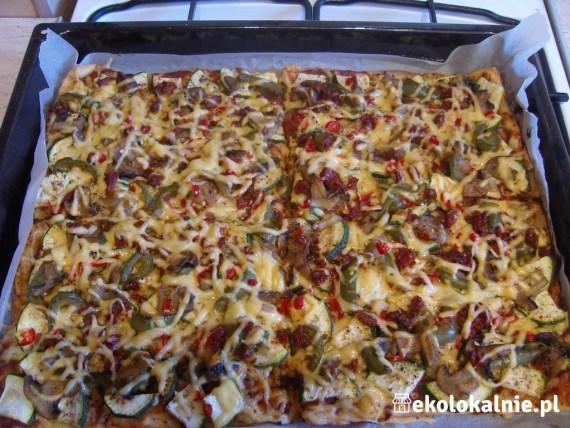 Zielona pizza