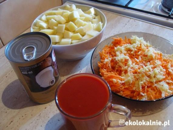 Zupa z czerwonej soczewicy i mleka kokosowego