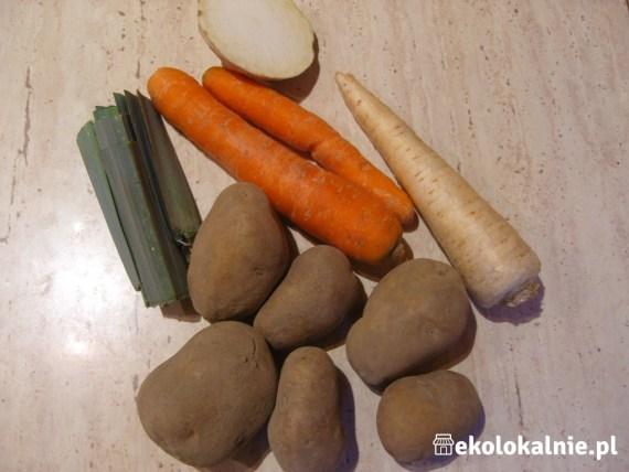 Zupa krem z ziemniaków z grzankami