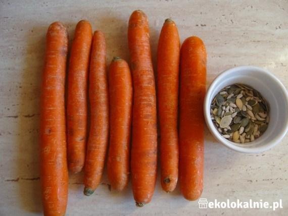 Pasta z pieczonej marchewki