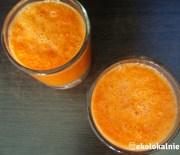 Gęsty sok marchwiowo-grejpfrutowy