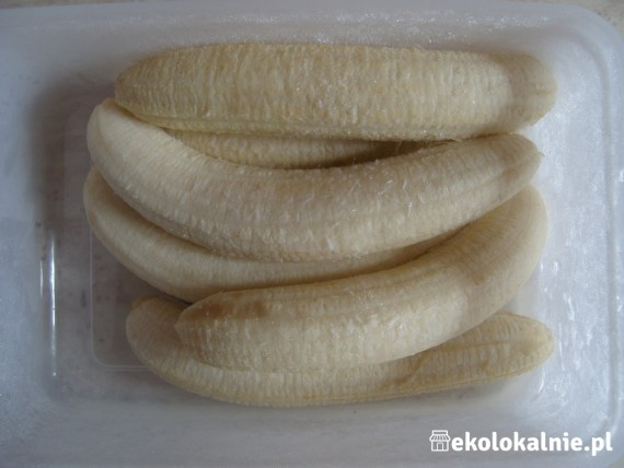 Wegańskie lody bananowe