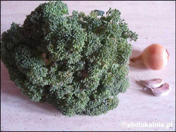 Szybki krem z brokuła