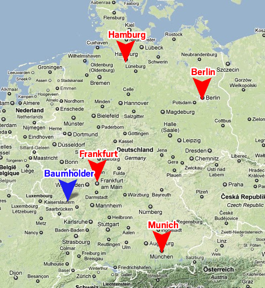 Dont Save Baumholder Us Military Bases Italy Map Military Bases