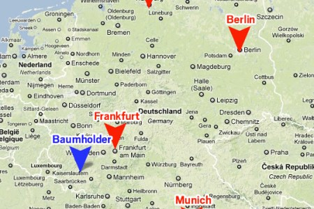 Map Of Us Military Bases In Germany - Germany map military bases