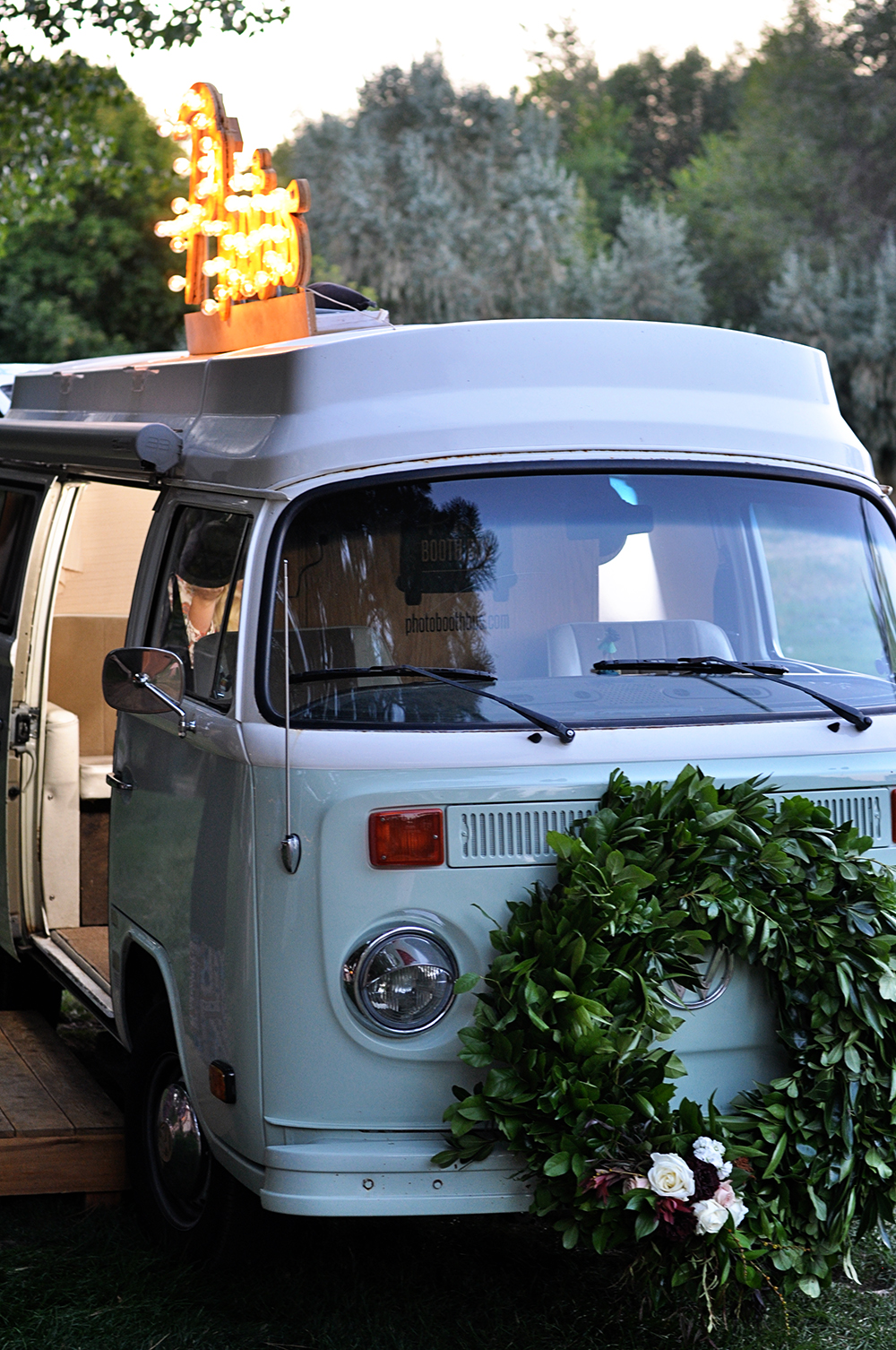 VW bus photo booth!
